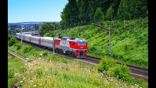 На поезде Москва Владивосток Фильм 15 Мариинск Ачинскчасть 5