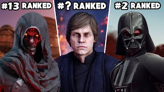 Battlefront 2 - Ranking ALL 22 HEROES & VILLAINS from WORST to BEST (FINAL RANK)