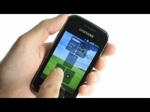 Samsung S5660 Galaxy Gio UI demo