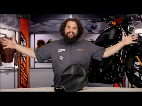 Thumbnail for Saddlemen Dominator Solo Seat For Harley Review