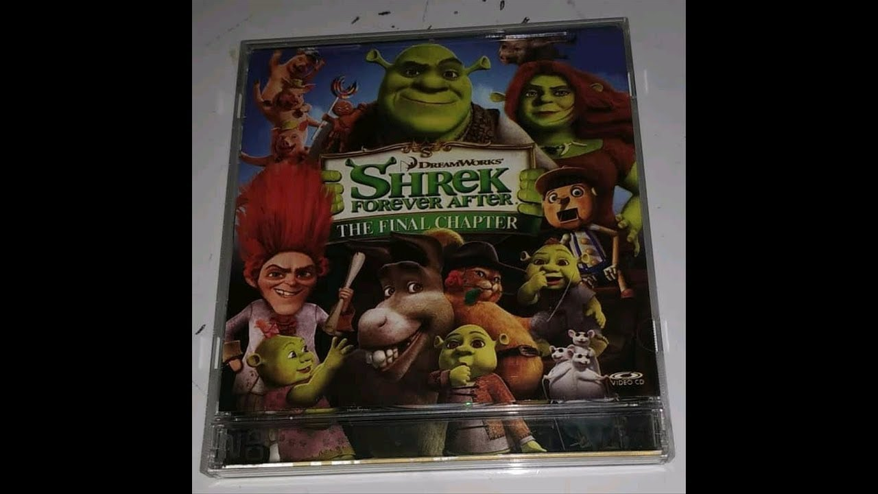 Opening To Shrek Forever After 2010 Vcd Youtube
