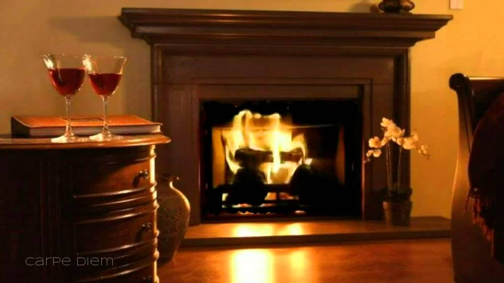 Fireplace | Just The Way You Are - Background Sound - YouTube