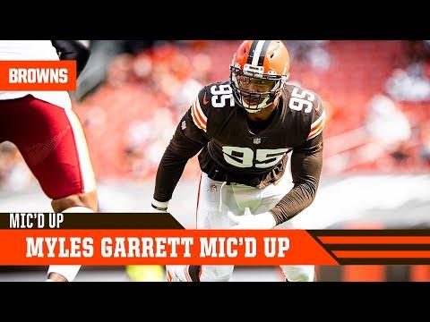Myles Garrett Mic'd Up vs. Washington: Extended Cut | Cleveland Browns