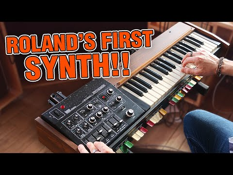The Roland SH-1000 Synthesizer: Unboxing And Fun
