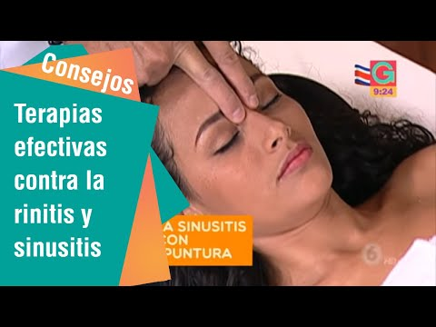 Terapias alternativas para combatir la rinitis y sinusitis