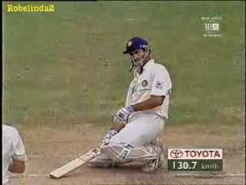 VVS Laxman's classy reply to Glenn McGrath, after embarrassment of hit in the head