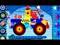 Truck Driver Monster Truck : Dinosaur Cars Cartoons - Car Driving for Children | Videos for KIDS