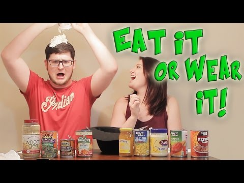 how to play eat it or wear it challenge
