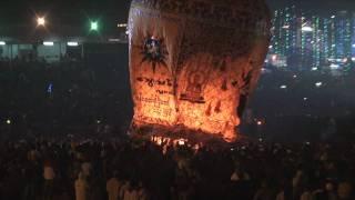 Balloon crash during festival in Myanmar