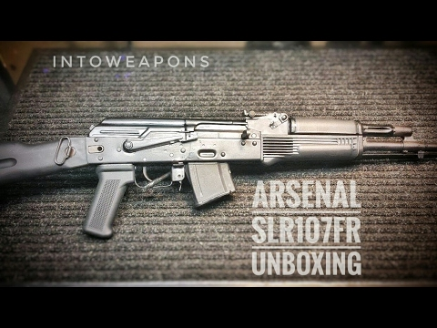 Arsenal SLR-107fr AK Rifle: Unboxing & Overview