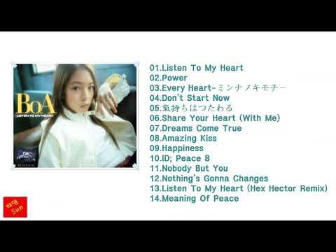 (보아)BoA LISTEN TO MY HEART (2002.03.13)