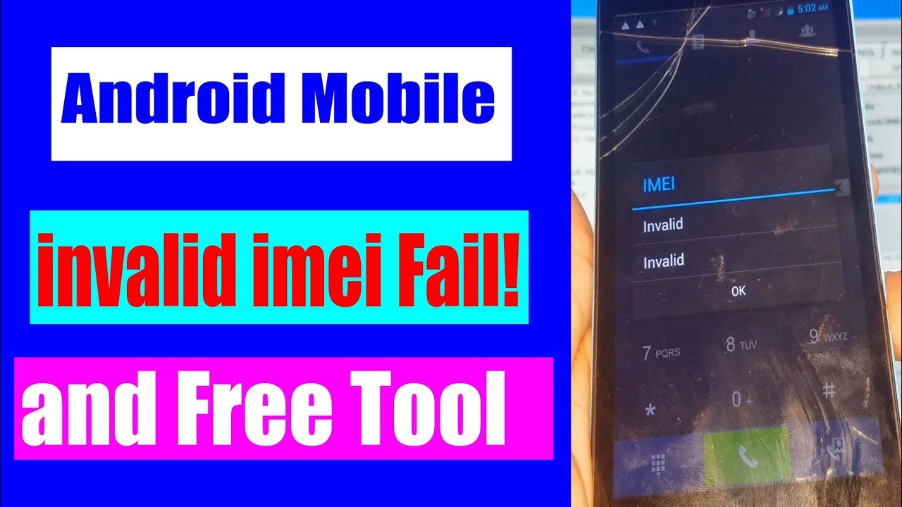 New All Android Invalid IMEI Repair Without Box With Free Tool | Urdu Hindi