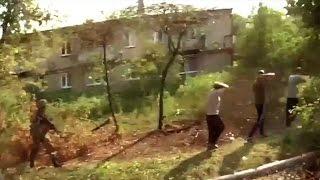 Украина. Батальйон Азов в пригороде Донецка. Марьинка.