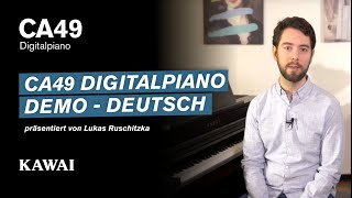 KAWAI CA49 Digitalpiano DEMO - Deutsch