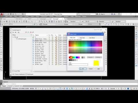 Triển khai bản vẽ kiến trúc nhà phố – Video 1:Khởi tạo file CAD mới, tạo layer, định dạng text, dim