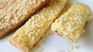 Сырное печенье - рецепт. Сырные палочки