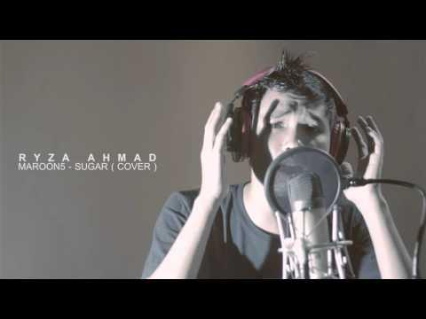 Sugar - Maroon5 ( cover ) - Ryza Ahmad ( amazing indonesian male singer )