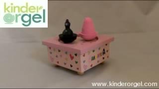 Kinderorgel / Trousselier Barbapapa Pink Music Box / www.kinderorgel.com