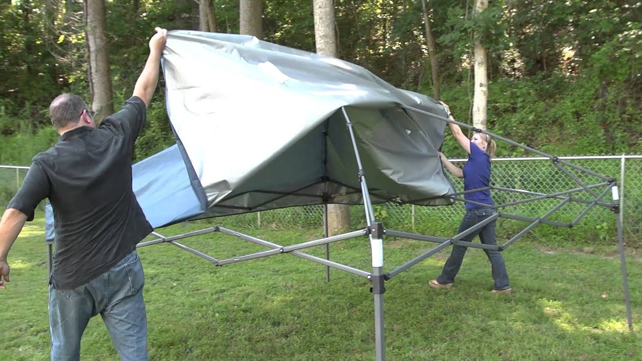 Bravo Sports | Quik Shade Weekender Instant Canopy & Bravo Sports | Quik Shade Weekender Instant Canopy - YouTube