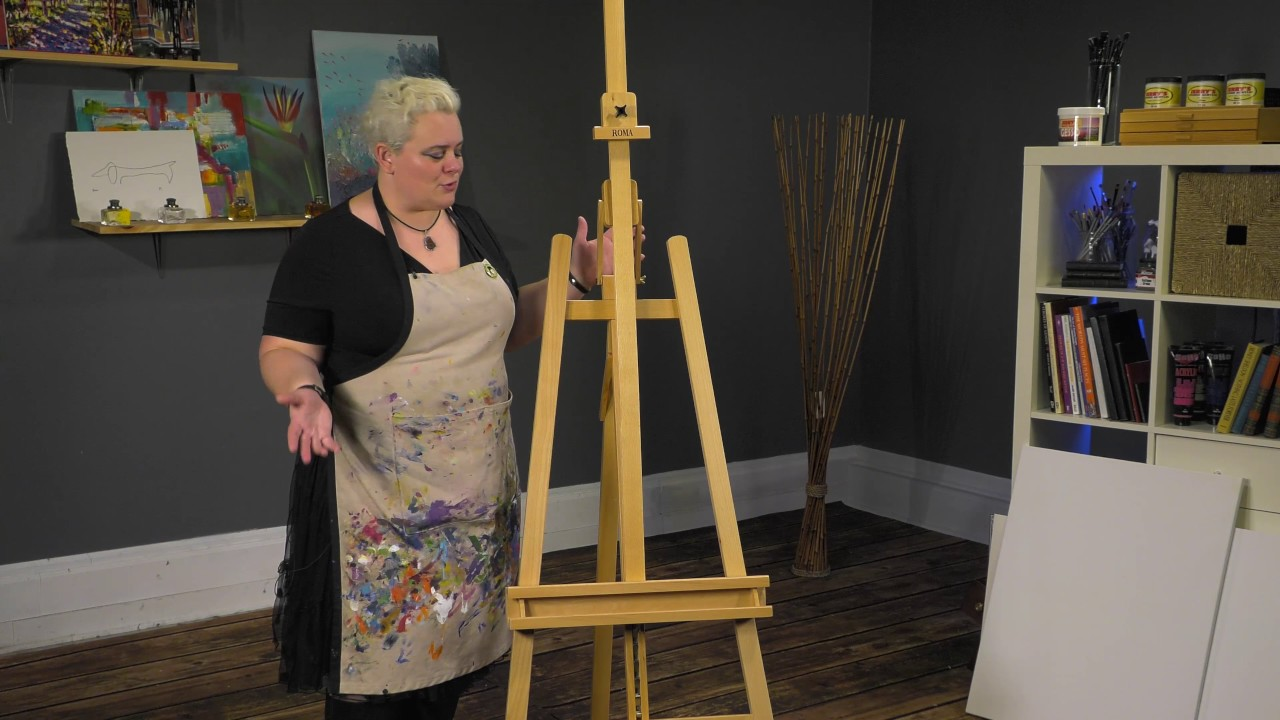 Roma A Frame Studio Easel Product Demo Youtube