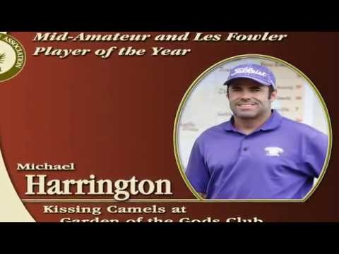 Michael Harrington, 2014 CGA Les Fowler Player Of The Year, And Mid-Am Player Of The Year