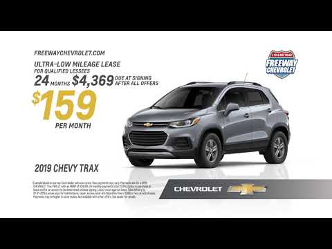 Freeway Chevrolet | January 2019 Offers