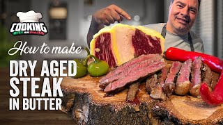 Dry Aging Steak iฑ Butter for weeks