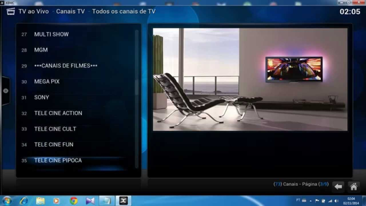how to watch canal plus on kodi