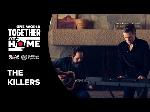 """The Killers perform """"Mr. Brightside""""   One World: Together At Home"""