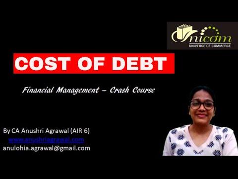 #5.1 Cost of Debt ll FM Crash Course ll CA IPCC/INTER ll UPSC Commerce