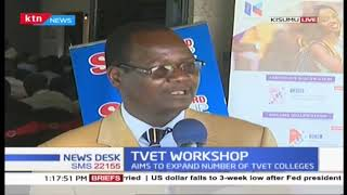 Government to spend Shs. 173B in the next 5 years,  aim to expand number of TVET colleges