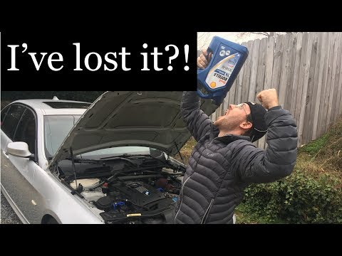 Diesel Oil in a Gas engine BMW 335i?! (Shell Rotella T6)