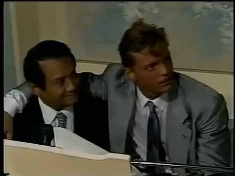 Luis Miguel y Armando Manzanero 1989 inedito (completo)