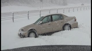 12/9/2012 Twin Cities in Minnesota is hit by Winter Storm Caesar