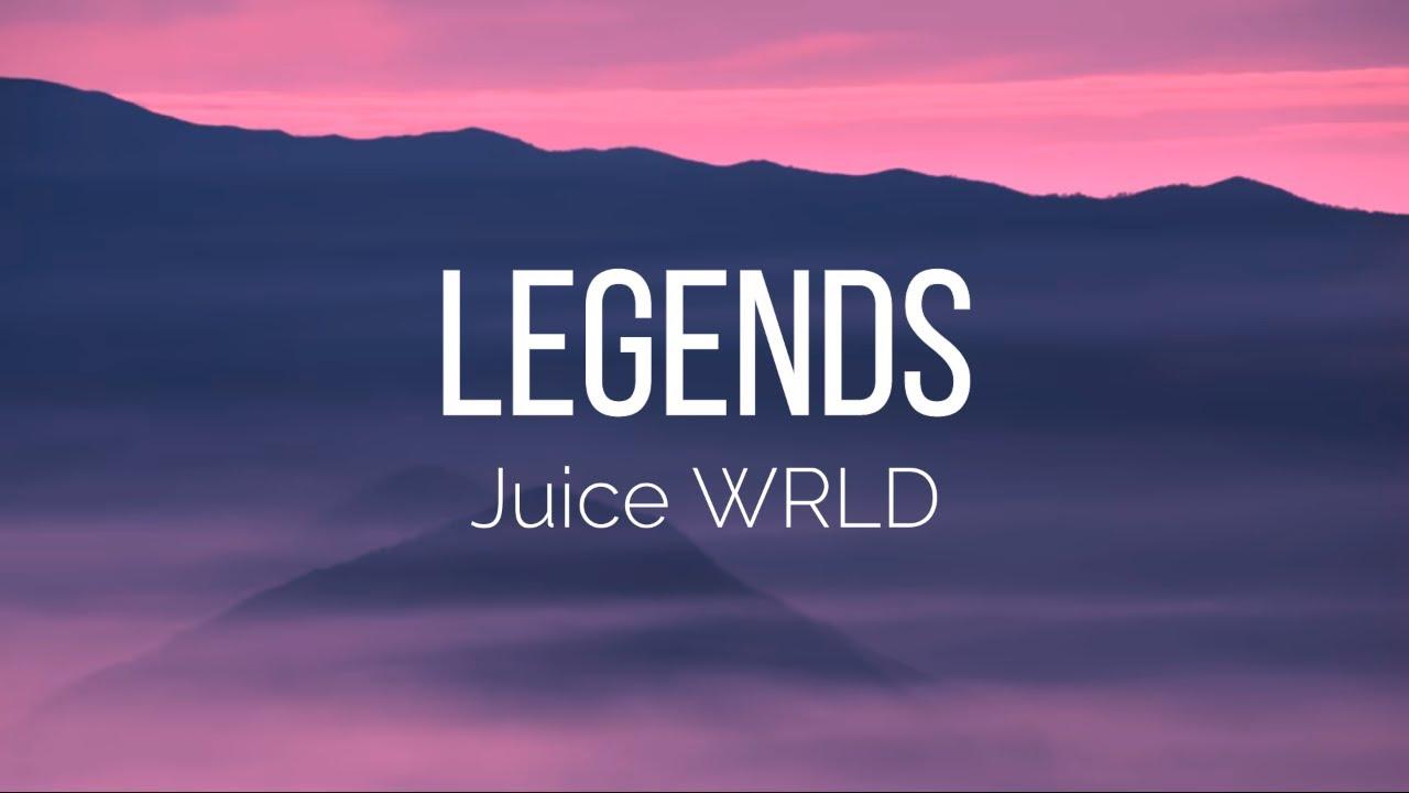 Juice Wrld Legends Lyrics Tribute Youtube
