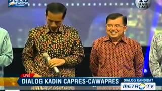 Dialog Kadin Capres dan Cawapres: Jokowi-JK (6)