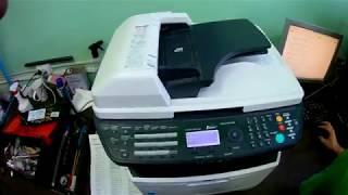 Kyocera ECOSYS M2535dn замена тефлонового вала