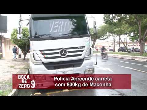 BOCA DE ZERO NOVE - Força-Tarefa apreende cerca de 800 quilos de maconha