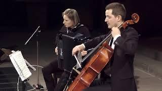 Manuel De Falla, Nana – Marie-Andrée Joerger, accordion Nicolas Hugon, cello