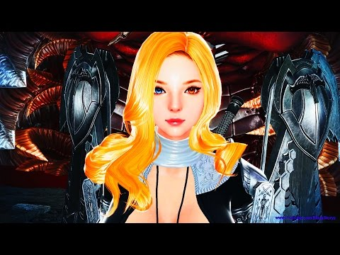 Vindictus Gameplay Goddess Neamhain Sea of Reflection (FULL PHASE RAID) / CUTSCENE 4K