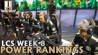 Week 8 LCS Power Rankings: TSM Knocks at Top 2 | 2019 Spring