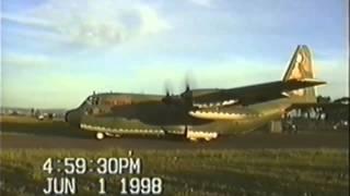 Avião Hercules - Exército brasileiro treinando em Ourinhos thumbnail