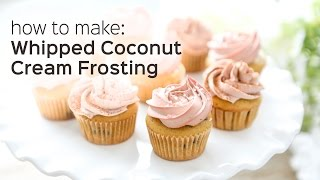 How To Make Whipped Coconut Cream (non-dairy Cake Frosting)