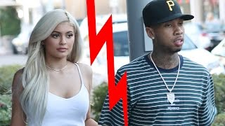 kylie jenner tyga split tygas new music to spill on drama?