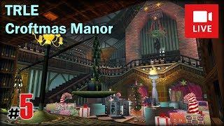 "[Archiwum] Live - TRLE Croftmas Manor (4) - [2/6] - ""Ogród i przyciski"""