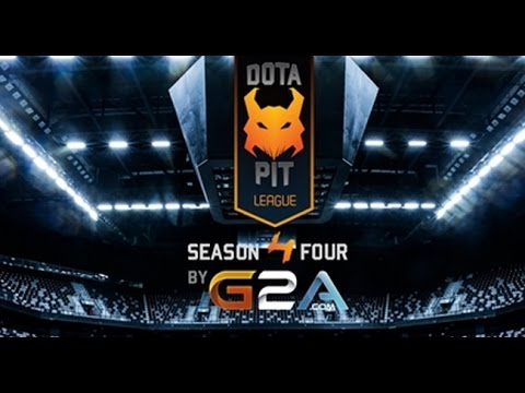 NAVI VS Evil Geniuses Game 2 Dota Pit Liague Season Four