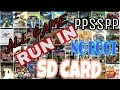 How to play games in sd card without root only ppsspp emulator in hindi