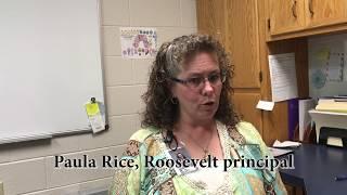 Paula Rice, Roosevelt principal