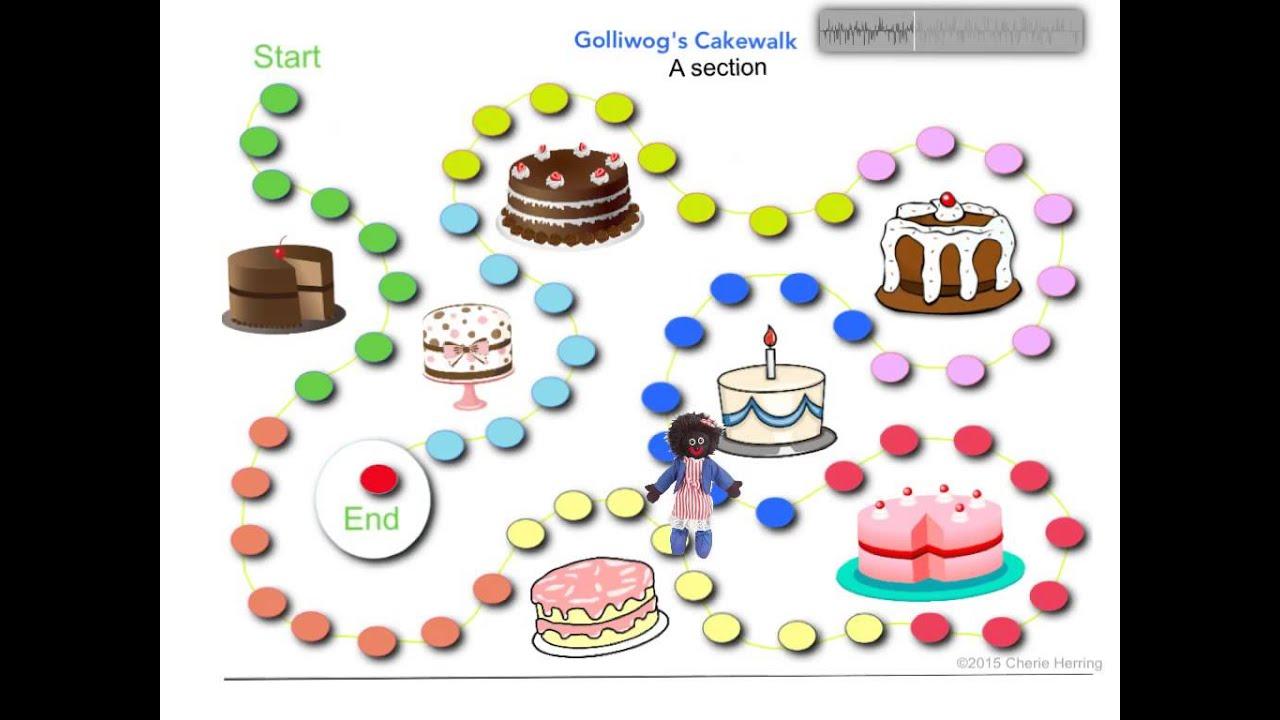 Cake Walk Clipart : Golliwog s Cakewalk Listening Map - YouTube
