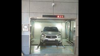 미래시스코 - 주차타워 시운전